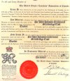 Sir John Johnson Centennial Branch charter